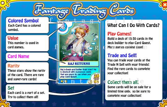 card info