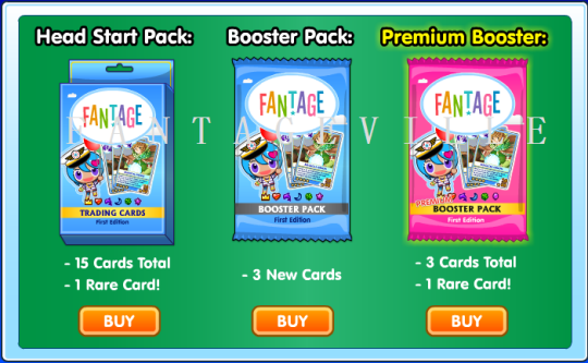 card packs