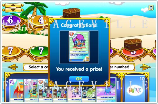 card quest prize