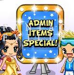 admin items special