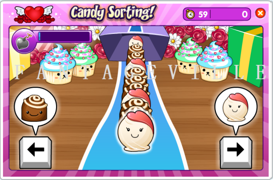 candy sorting game