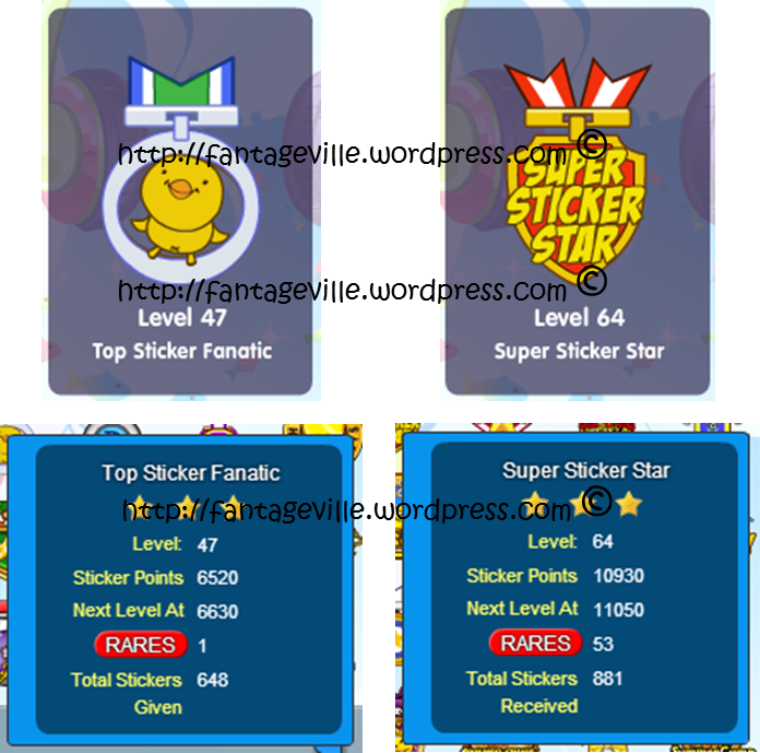 Notice how there is no sticker buying or earning medal that means that if you just buy stickers from the id fone shop or earn them during events