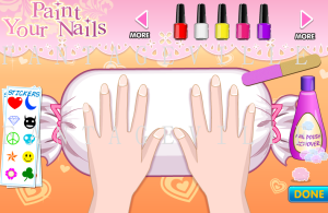 PAINT YOUR NAILS GAME