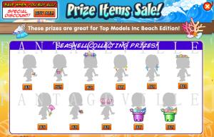 prize items sale