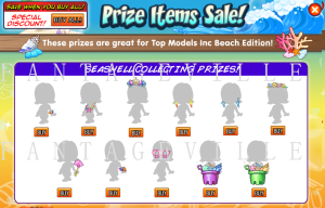 prize items sale