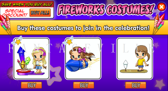 fireworks costumes