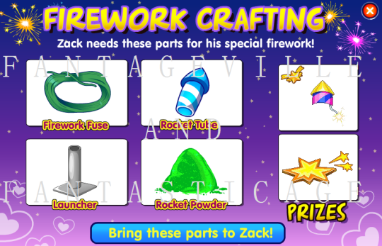 fireworks crafting