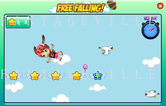 free fall game