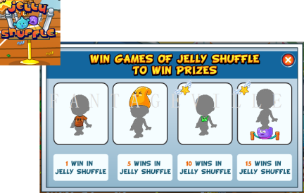 jelly shuffle prizes
