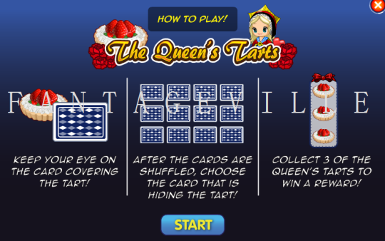 the queens tarts instructions