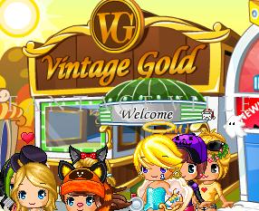 Vintage Gold Front