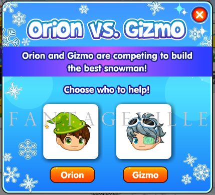orion vs. gizmo