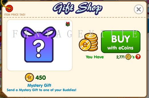 Buy mystery gift
