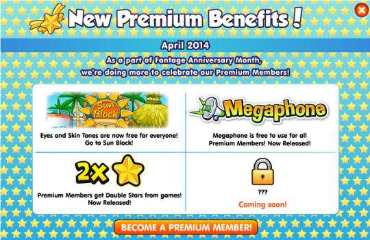 New Premium Benefits