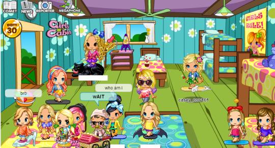 girls cabin