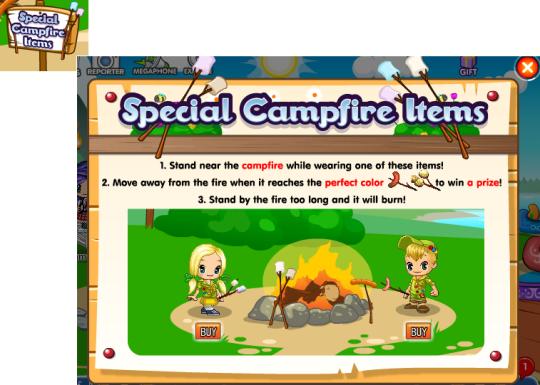 special campfire items