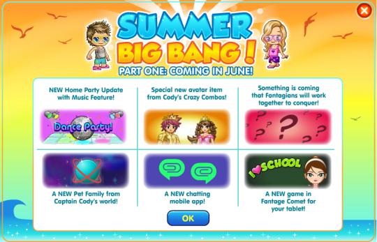summer big bang